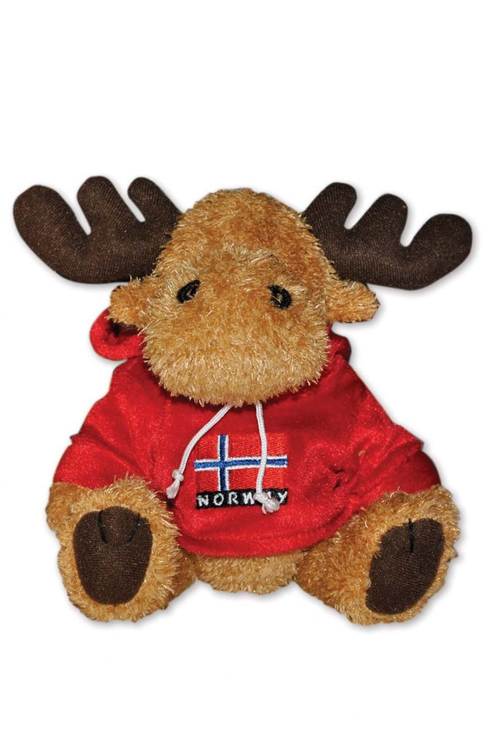 Plush Moose With Red Hoodie - Way Nor - Toys & Games