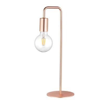 Lampada da tavolo Lana trasparente, in metallo, E27 MAX