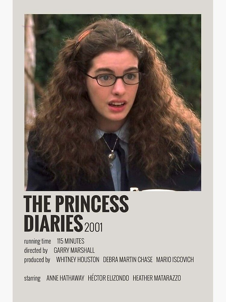 The Princess Diaries Movie Poster Poster by imogen ripley