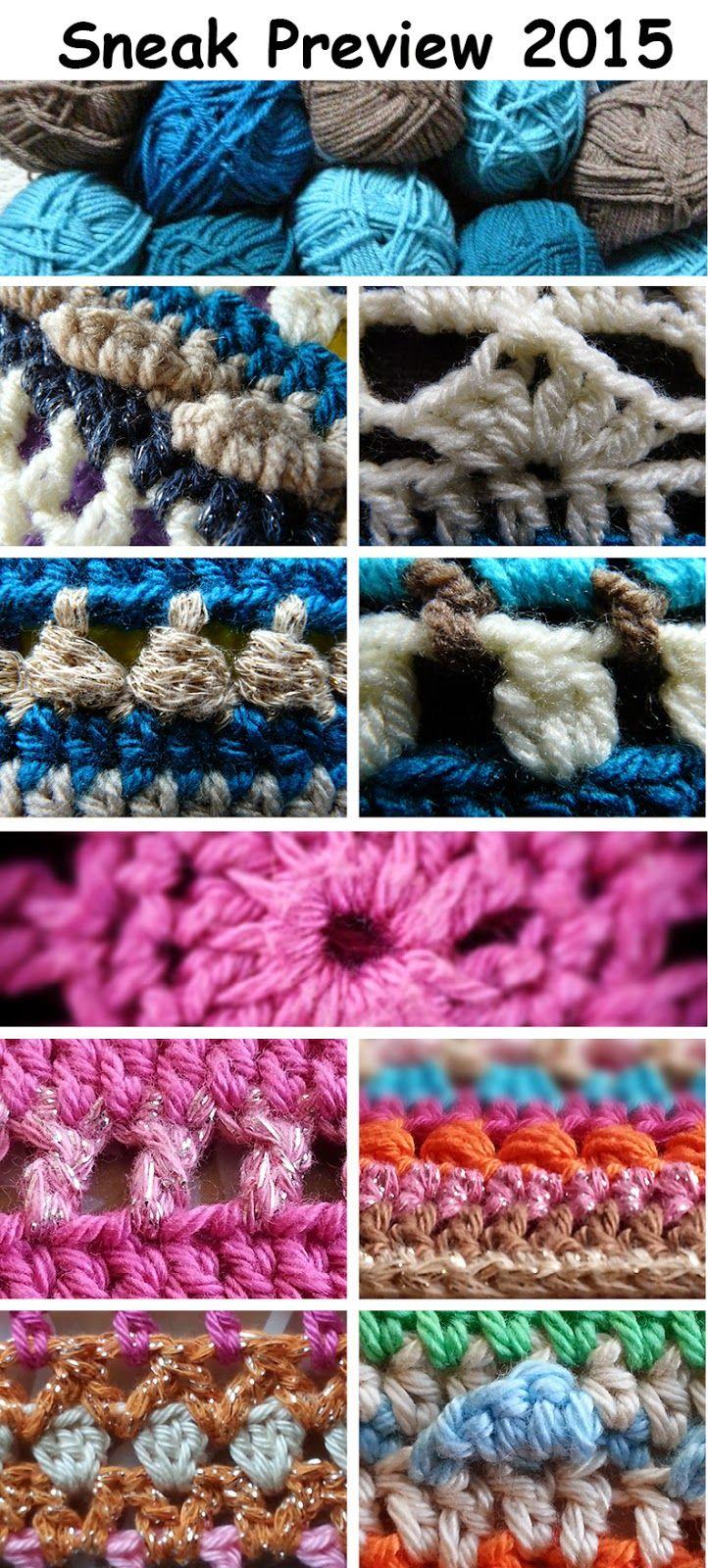 De Creatieve Wereld Van Terray Sneak Preview Crochet Along 2015