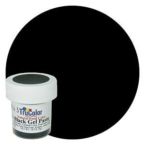 TruColor Natural Gel Paste Black