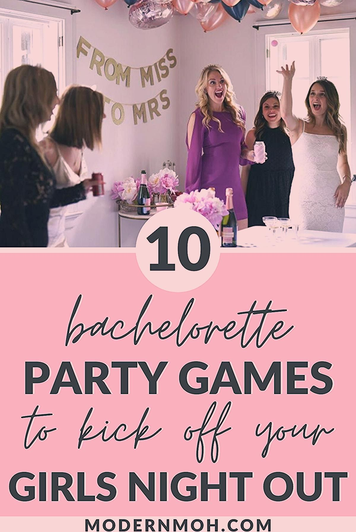 Photo of 10 Bachelorette Party Games to Kick Off Your Girls Night Out – Modern MOH