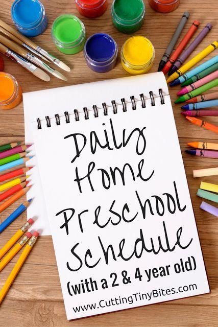 Home Preschool Schedule Preschool Schedule Preschool