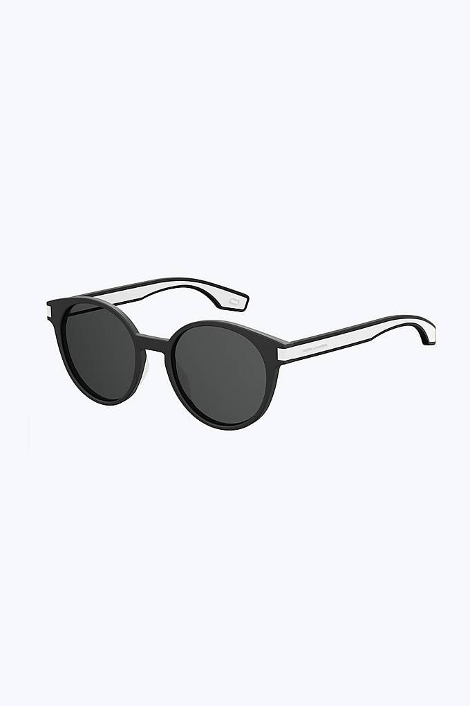 d394bb9b52 Marc Jacobs Iconic Stripes Neon Panthos Sunglasses in Black ...
