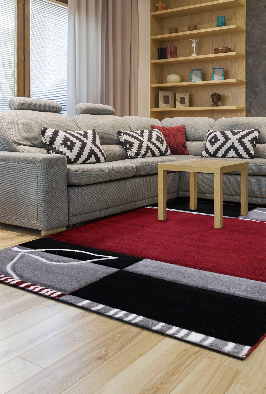 Schön Wohnzimmer Teppich Grau Ideen