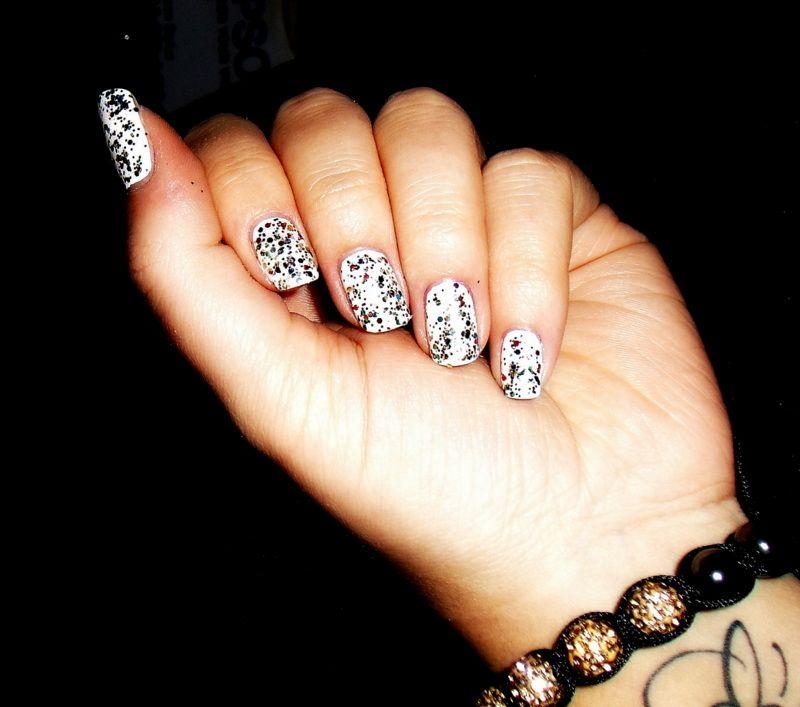 Nails paillettes