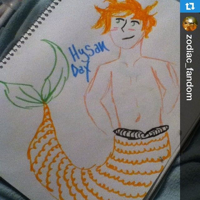 hysan dax as a merman