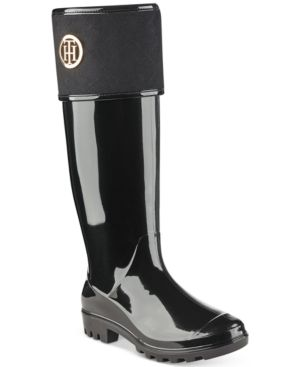 685e24cfb TOMMY HILFIGER SHINER RAIN BOOTS WOMEN S SHOES.  tommyhilfiger  shoes