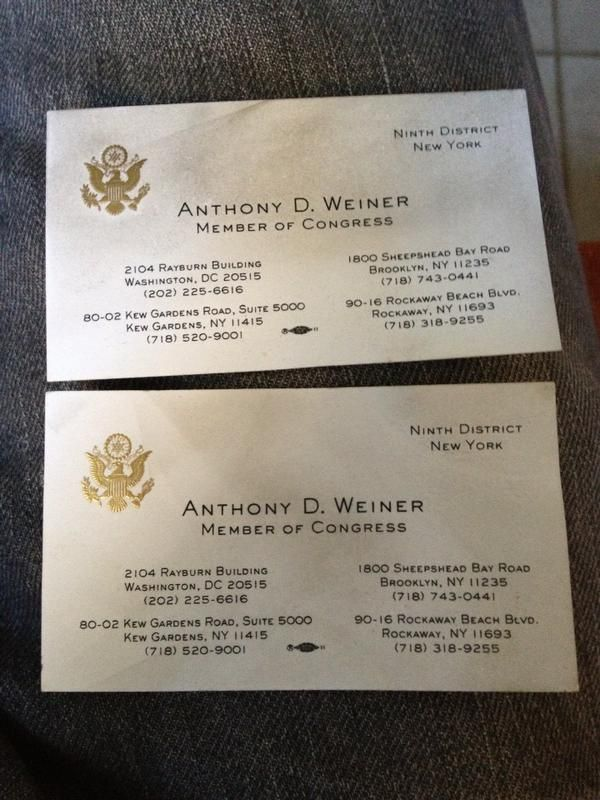 Congressional Business Card | Federal Graphic Design | Pinterest ...