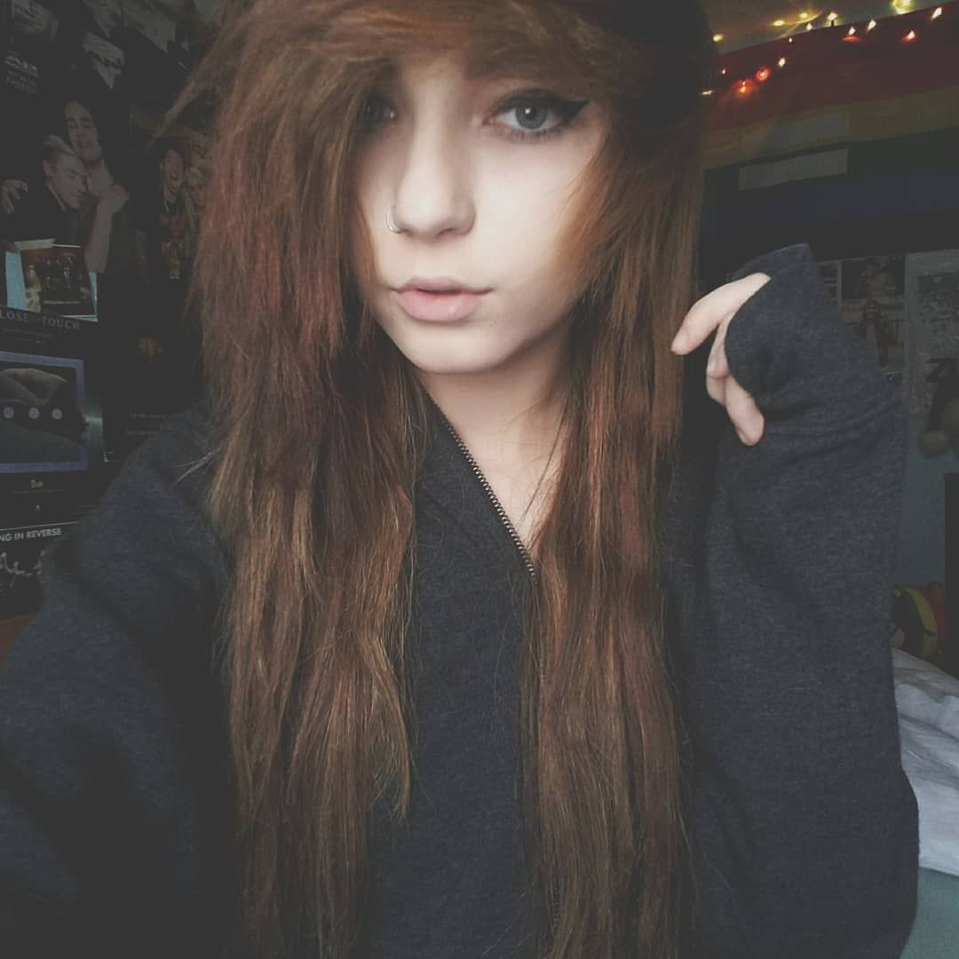 Erikalemaster emo fashion in pinterest emo cabello and
