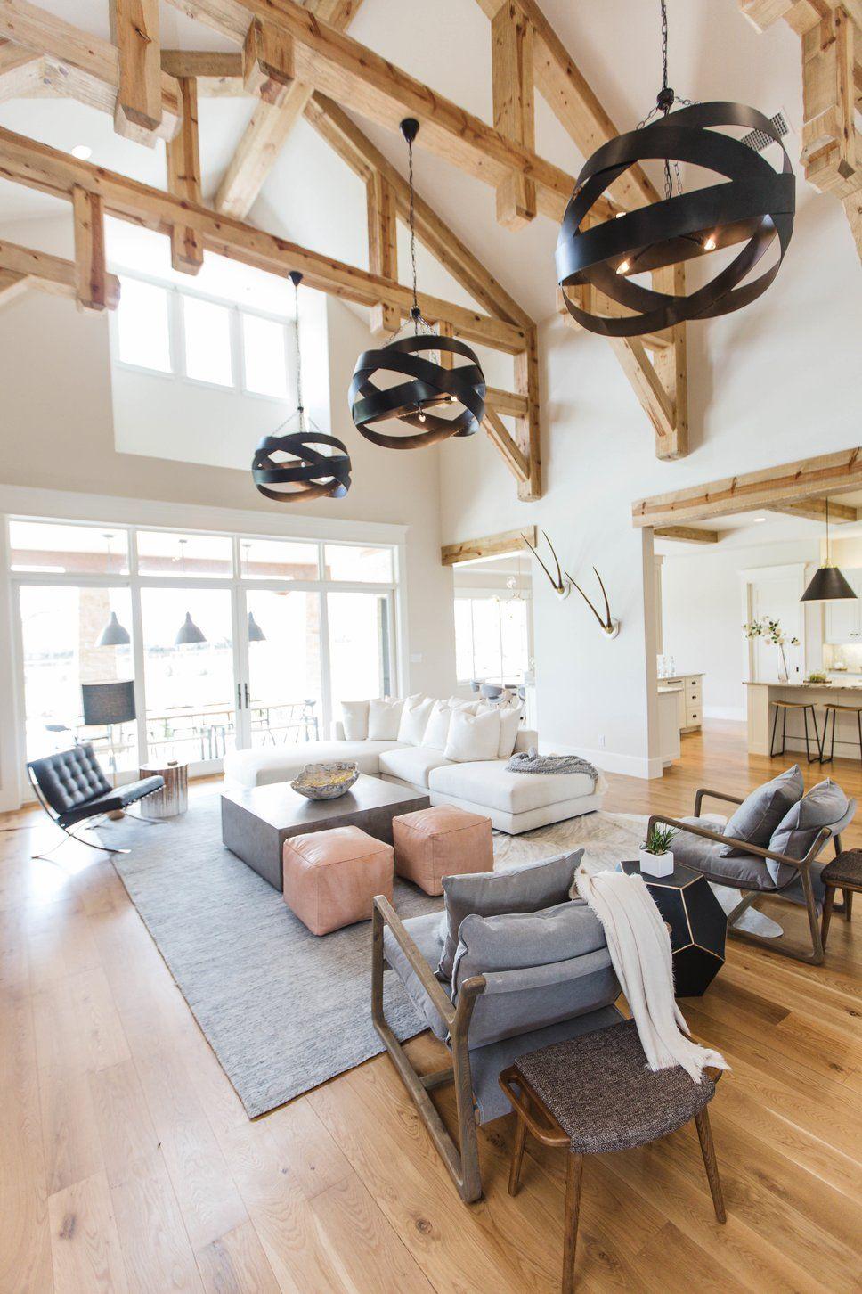 Rustic Living Room Design by Urbanology Designs in Rustic ...