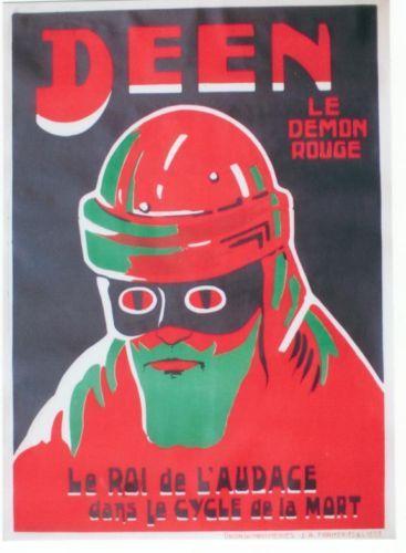 Bizarre Santa/Jesus/Alien poster from 1920.