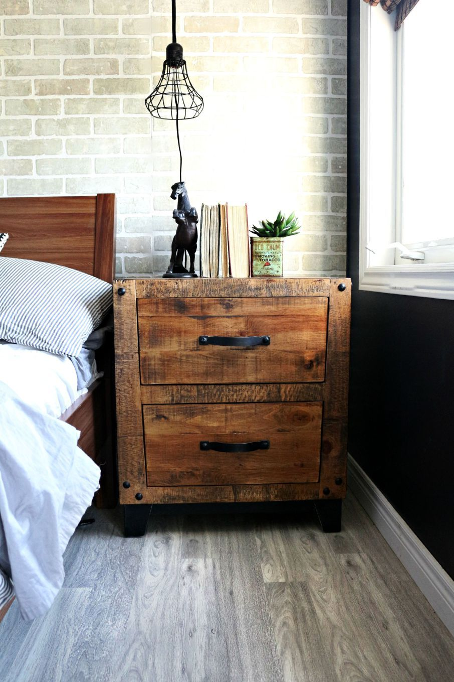 Industrial Bedroom Furniture: Teen Boy Rooms, Teen Bedroom