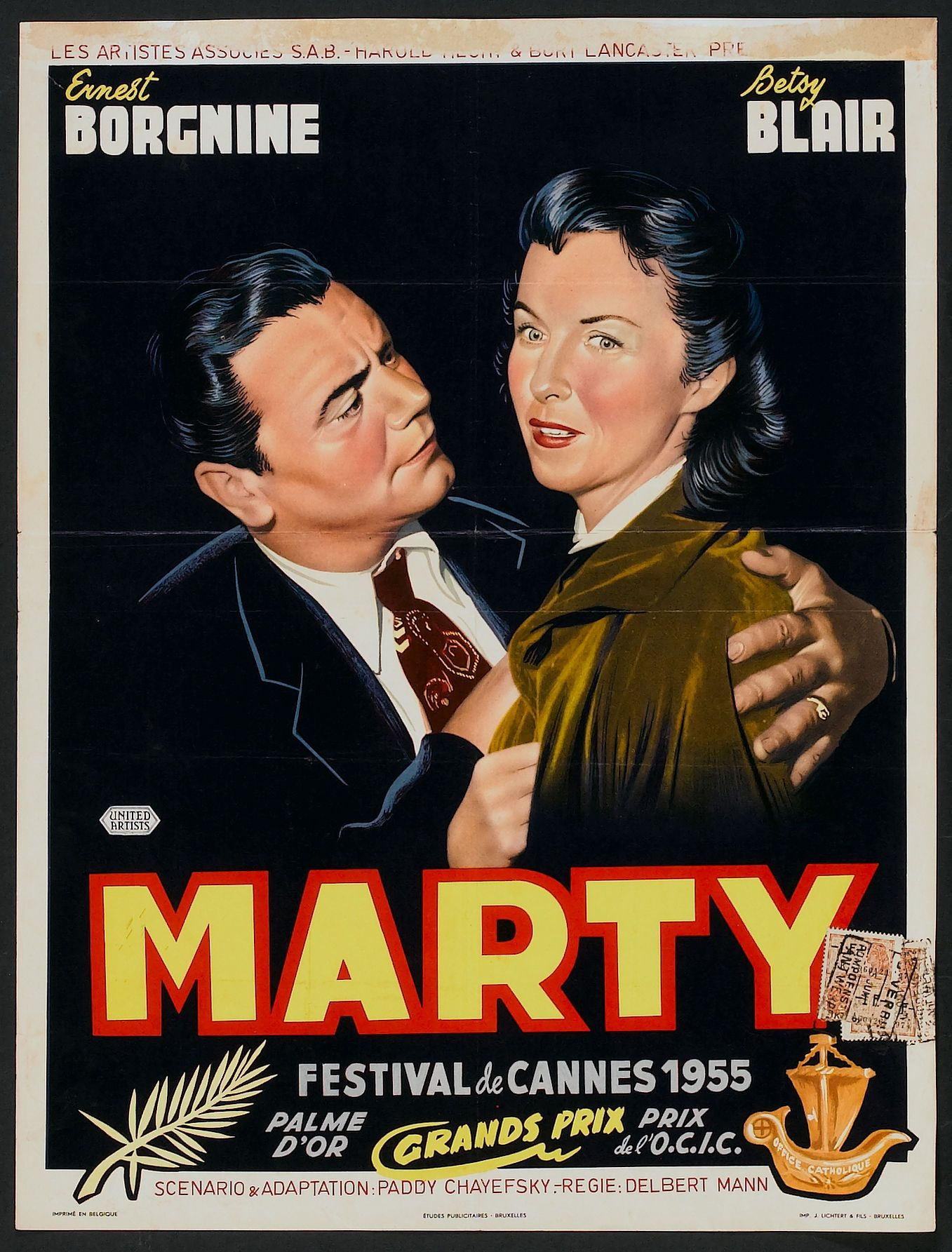 Image result for marty 1955 poster