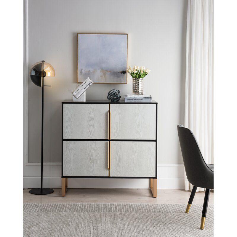 Pinegar 4 Door Accent Cabinet Accent Cabinet Accent Doors Accent Cabinet Living Room