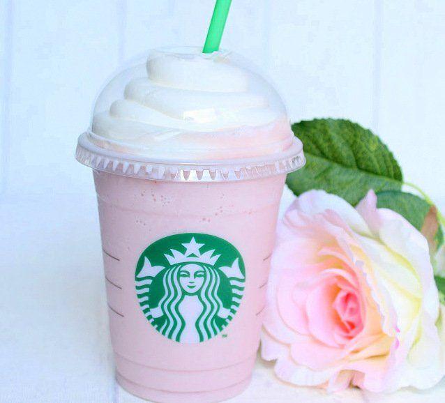Cotton Candy Frappuccino,Starbucks Frappuccino,Thermomix Rezept #starbuckssecretmenudrinksfrappuccino