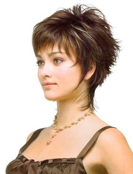 short haircuts women with fine