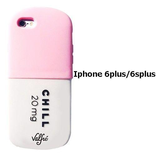 99246b1ab3 Valfre ヴァルフェー 立体 CHILL PILL 3D IPHONE 6plus / 6Splus CASE PINK iphone6plus ケース  シリコン おもしろ ソフト ブランド