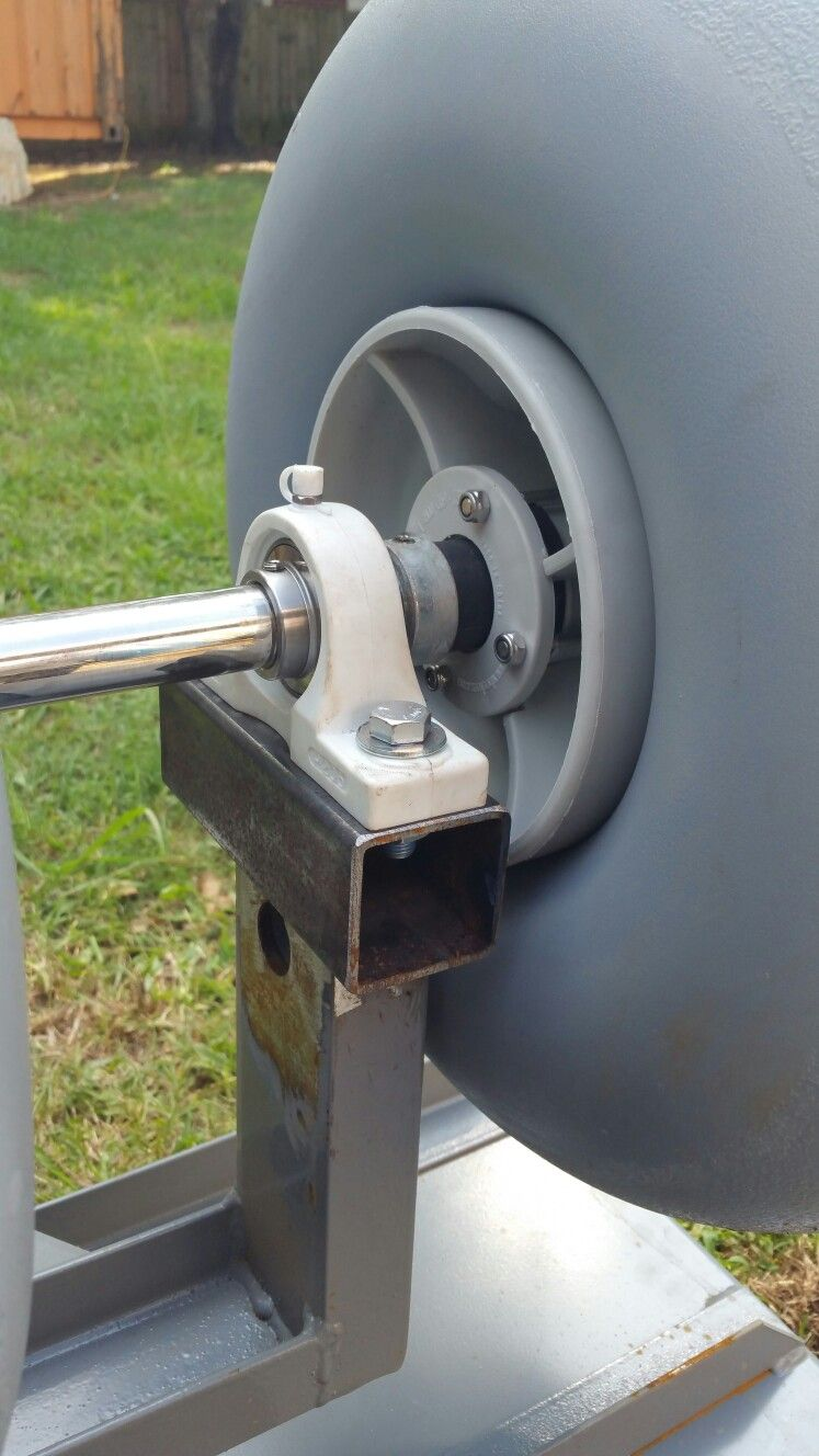 Front Stainless Roller Axle Of The World S Greatest Beach Cart