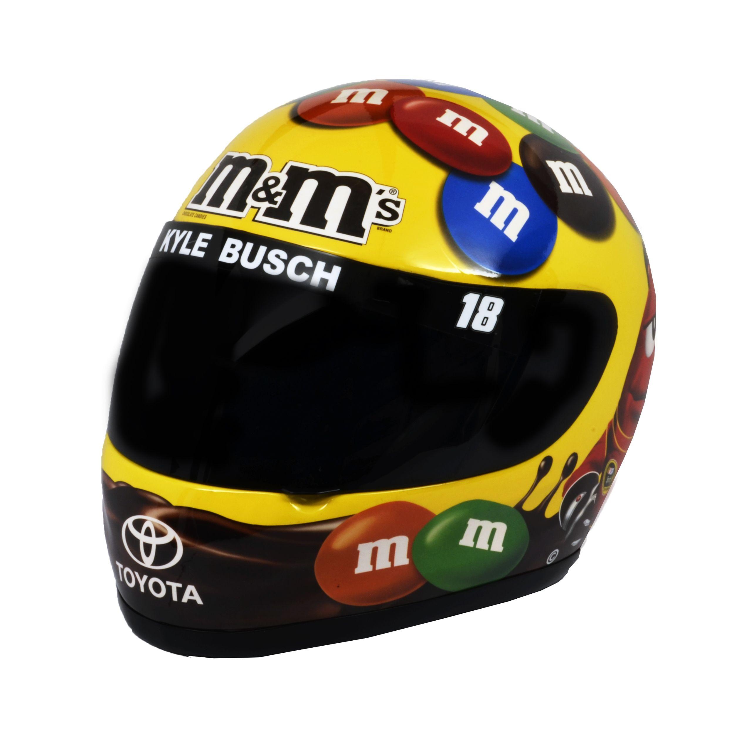Penske Near Me >> Kyle Busch M's Driver Helmet | Nascar helmet, Helmet, Kyle ...