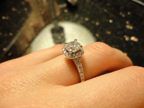 Designer Rings At Wholesale Prices! Liquidating Our Stock! Scott Kay  Engagement Ring M1873R510W 14k White Gold .16ctw Size 6.5 Vintage Style  Engageu2026