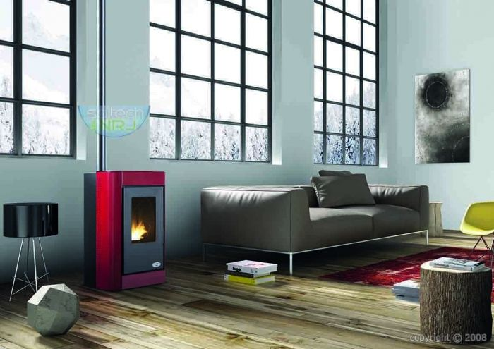 po le granul karmek oslo 6 kw sortie haute poele. Black Bedroom Furniture Sets. Home Design Ideas