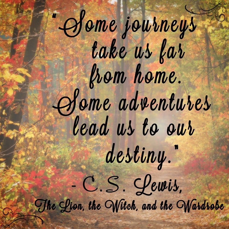 Some Journeys Take Us Far From Home Bless Everyone Who Cannot Come Home For Christmas Narnia Quotes Cs Lewis Quotes Quotable Quotes