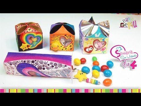 (Day 4) DIY Personalized Valentine's Day gift box / (Día 4) Cajitas de regalo para San Valentín - YouTube