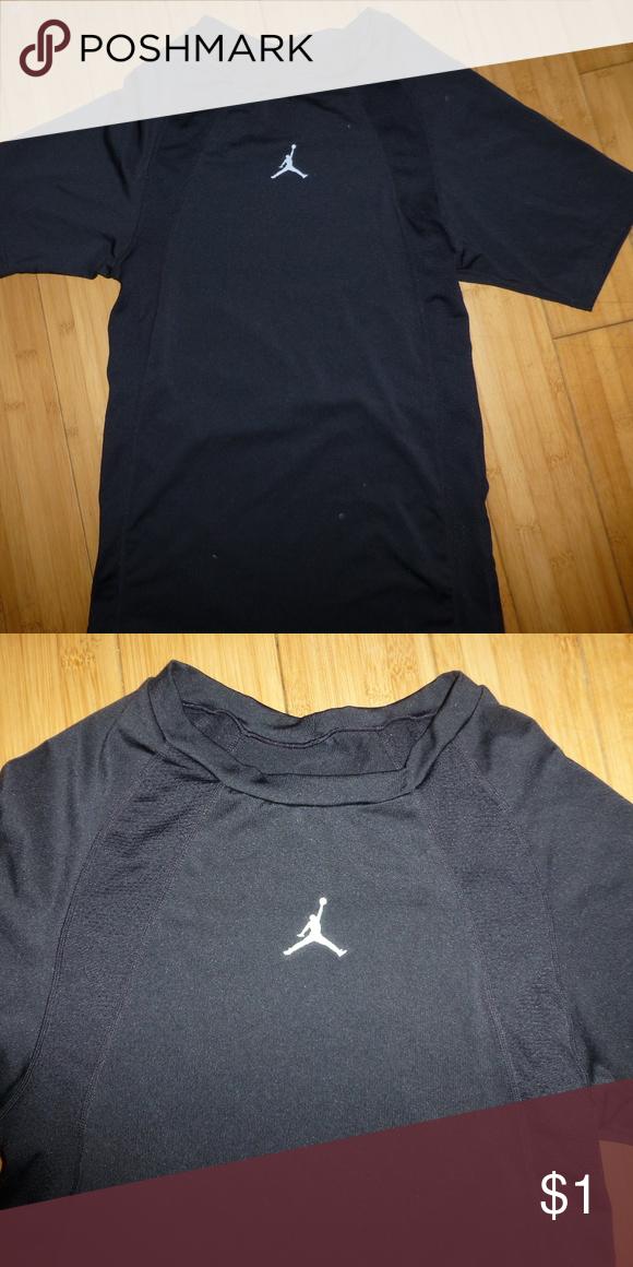 new concept 95363 204b6 Black Jordan trainer tee shirt large juniors Black Jordan ...