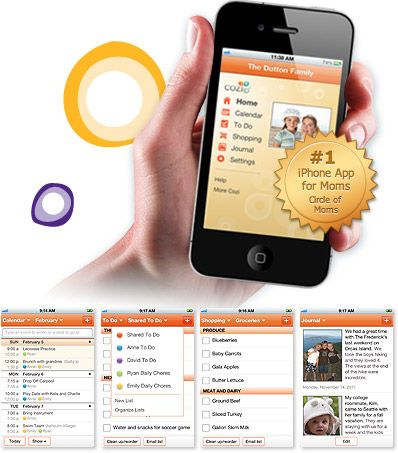 Calm the chaos of family lifethe Cozi app helps you keep