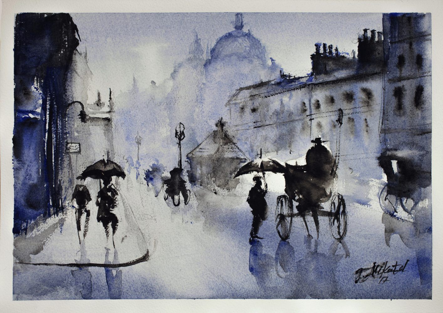 The Old London – Watercolour Hares Stags and more