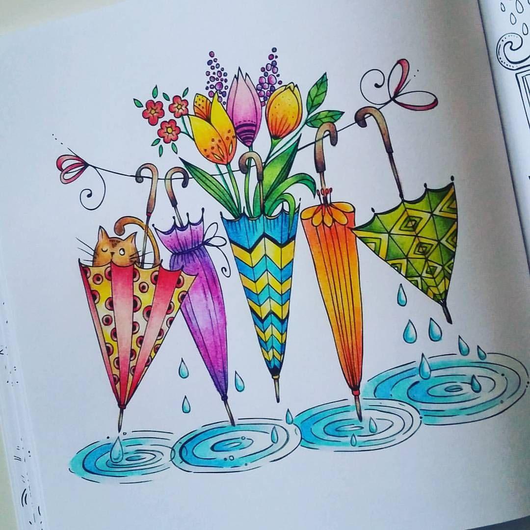 Открытки с цветными карандашами, санкт-петербурга