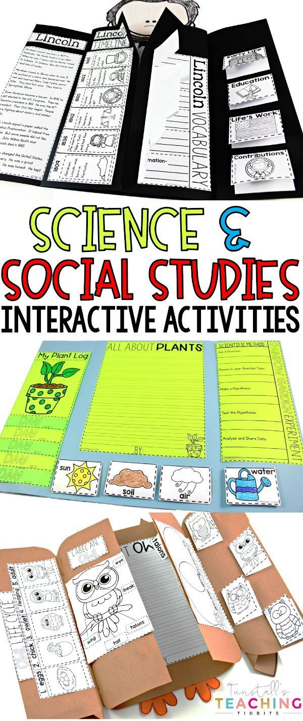 Interactive Science And Social Studies Bundle Second
