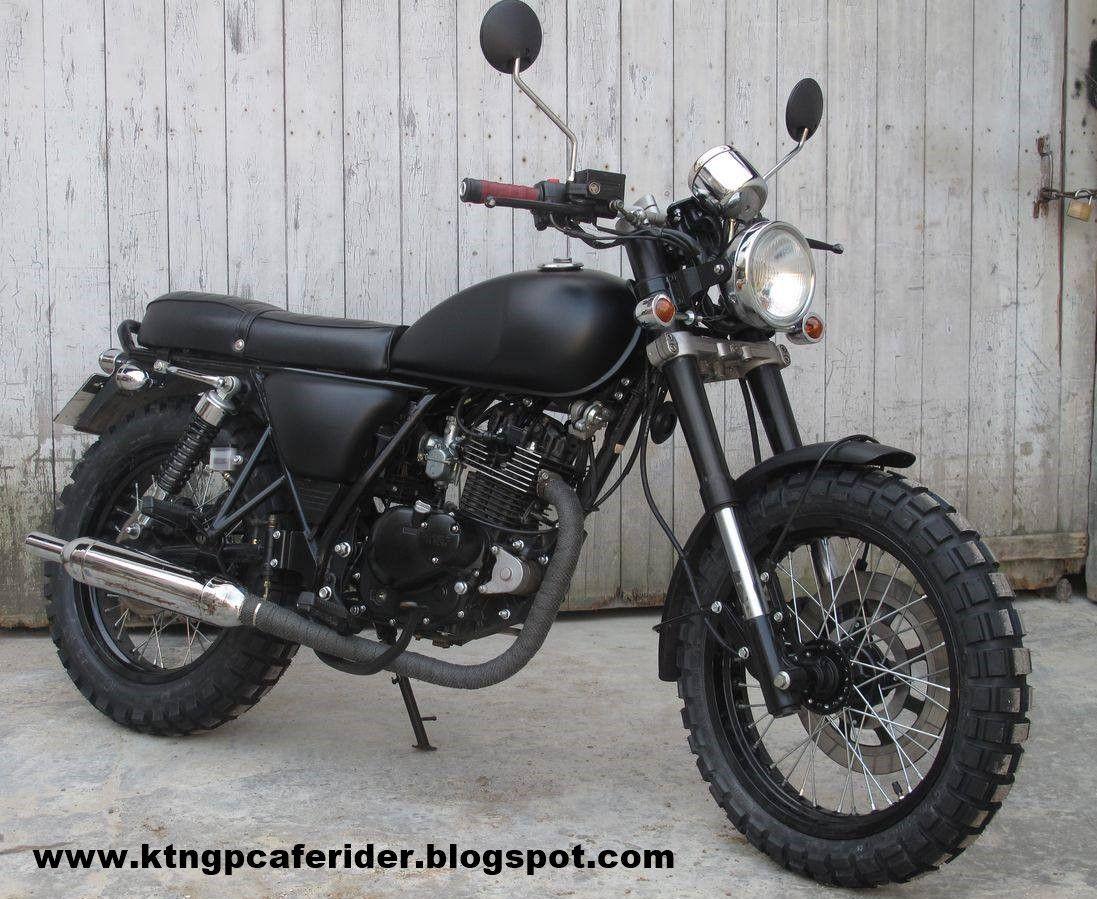 Cafe Racer Gp Brat Tracker Rat Malaysia Motos Customizadas Motos Cafe Racer