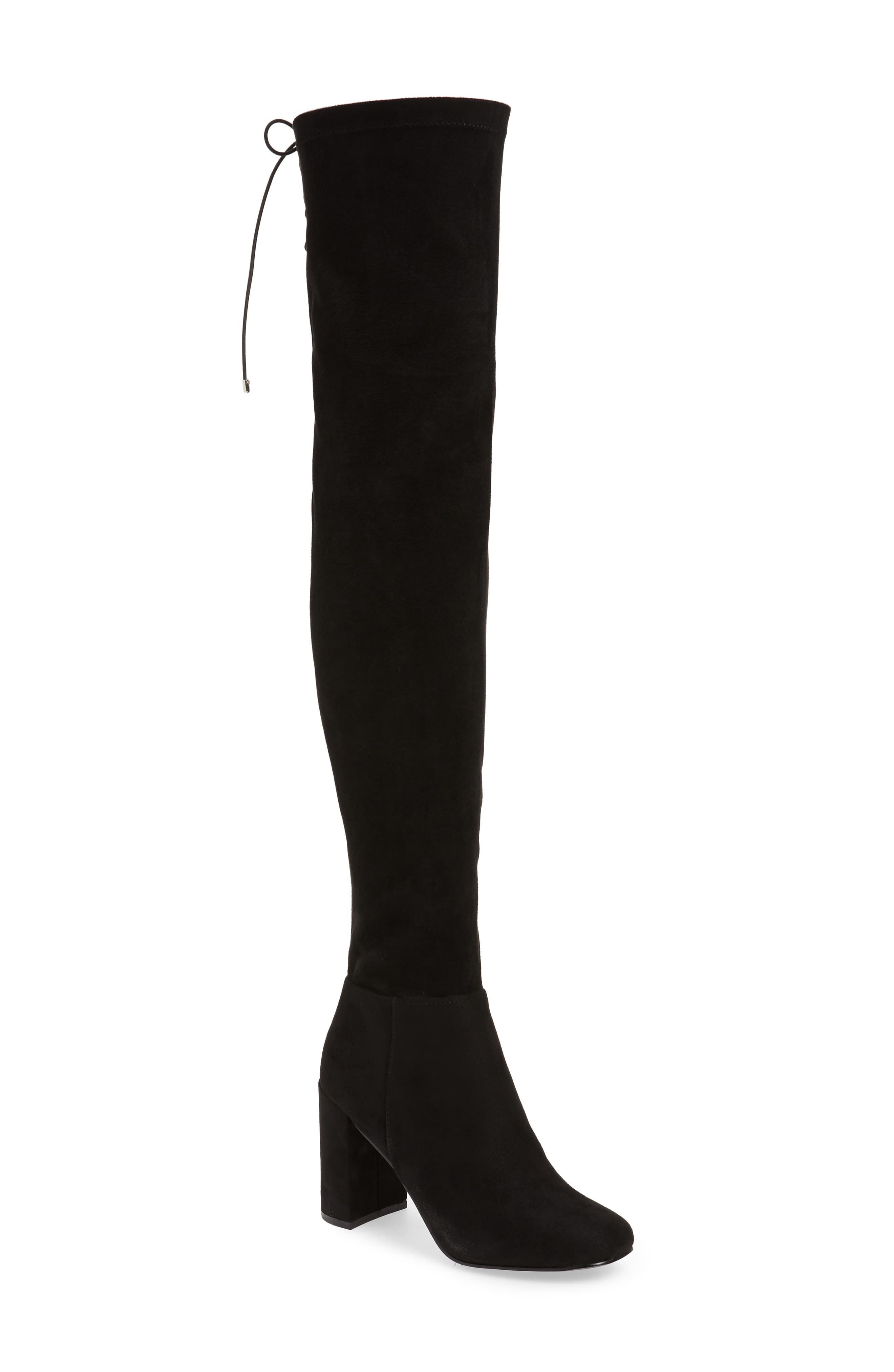 Women S Chinese Laundry King Over The Knee Boot Size 7 M Black