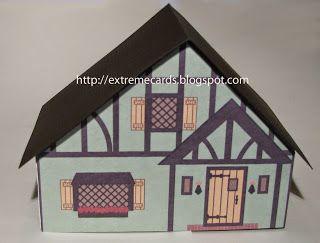 FREE PDF printable print and cut Green Tudor dollhouse paper