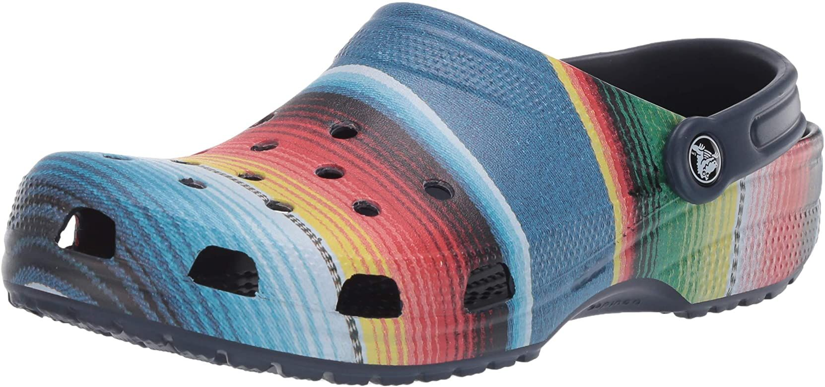 Comfortable Slip on Casual Water Shoe Navy 8 M US Women // 6 M US Men Crocs Womens Classic Clog