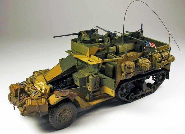 M2A1 Half Track by Carlos Blanco (Dragin 1/35)