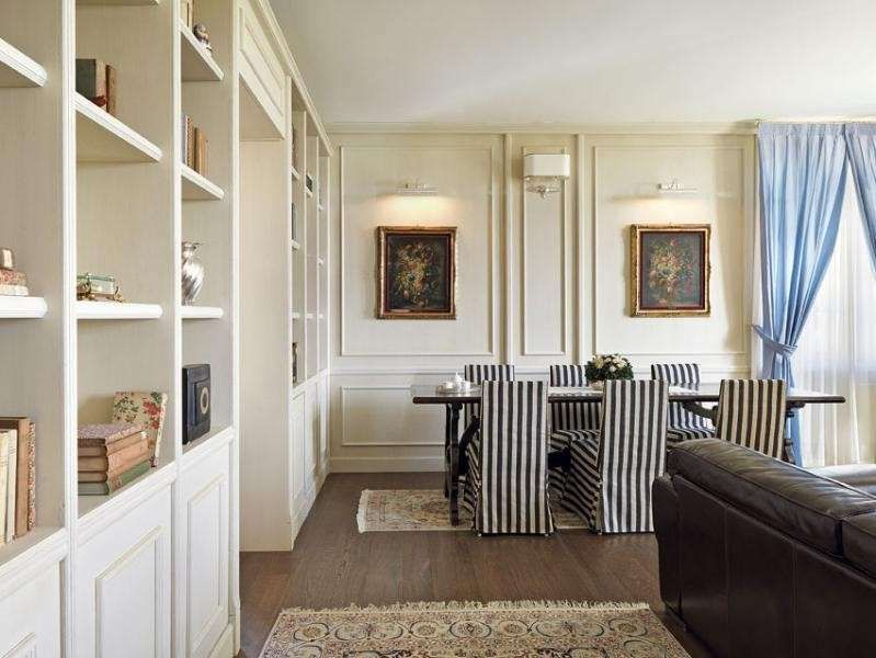 arredare con mobili antichi e moderni - casa dallo stile elegante - Arredamento Casa Stile Moderno