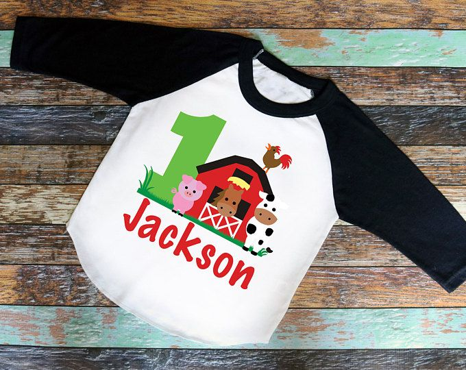 Farm 1 Shirt Bodysuit Or T