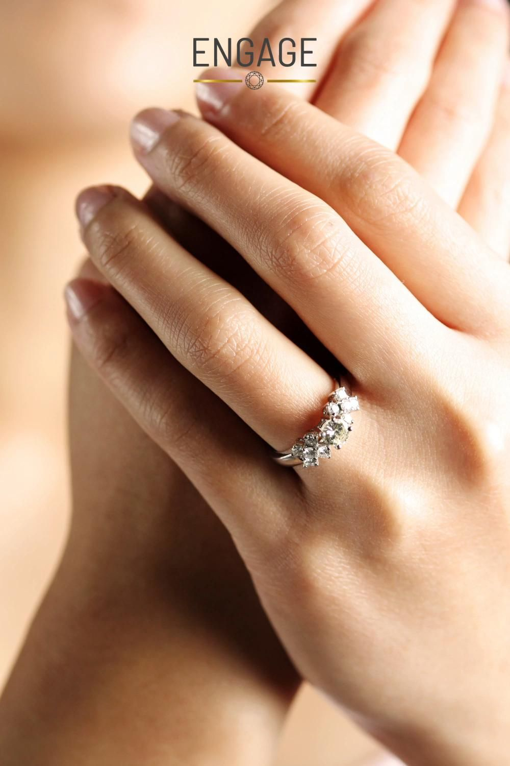 Design Custom Ring In A Few Clicks Video Wedding Ring Hand Engagement Rings Engagement