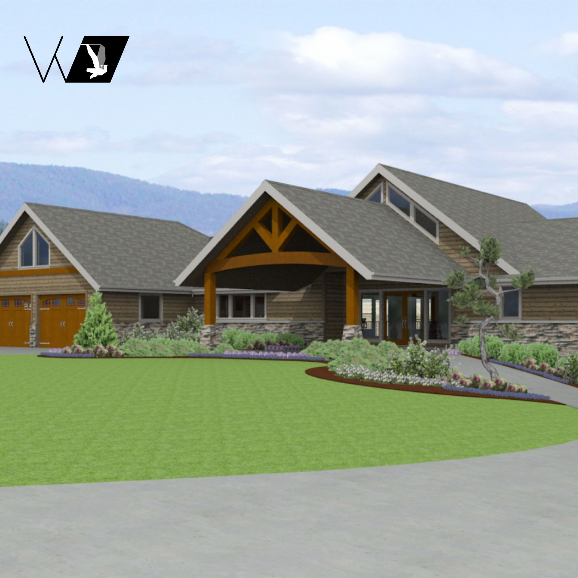 3056par In 2020 Northwest Style Contemporary Style Homes House Styles