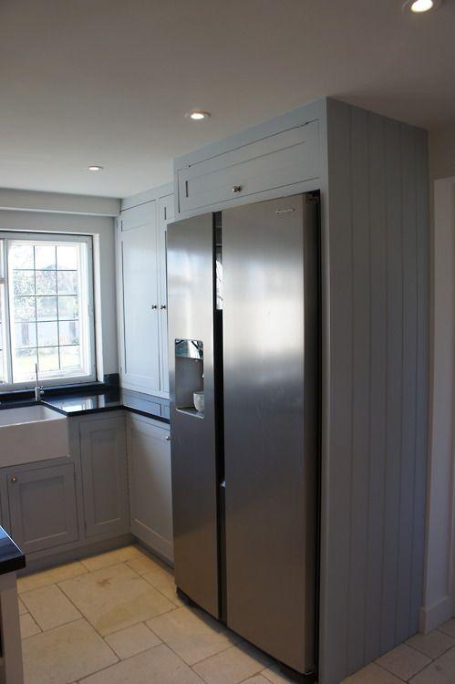8 American Fridge Ideas American Fridge Kitchen Design Shaker Kitchen