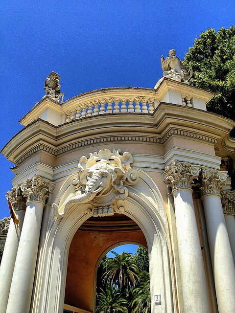 Entrance Gate - Rome Zoo (With Images)