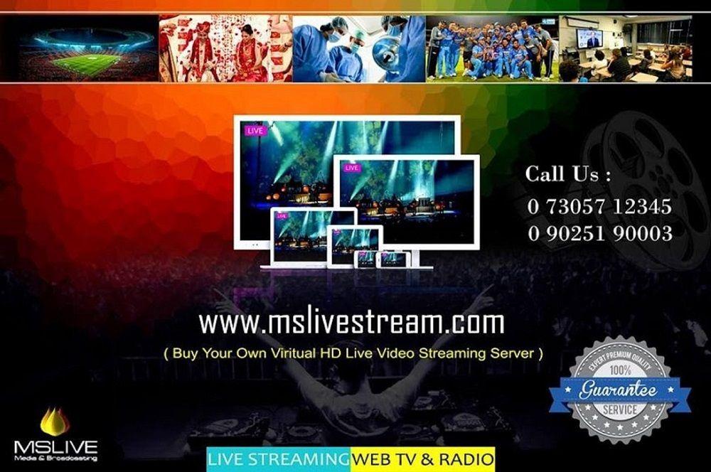 Live Wedding Webcasting Bangalore Chennai Hyderabad Kerala
