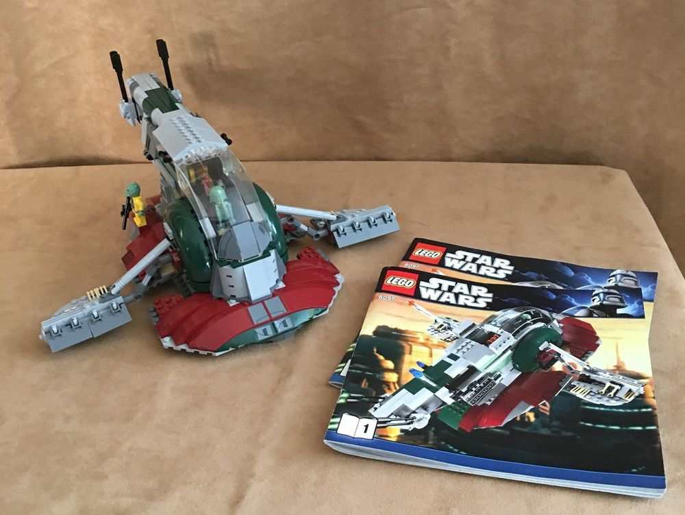 8097 Lego Star Wars Slave I Complete Instructions Boba Fett Bossk