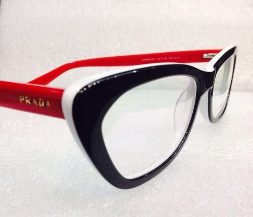 Armação Óculos Prada 3 Cores - R  199,00   óculos 5a1bdda1f0