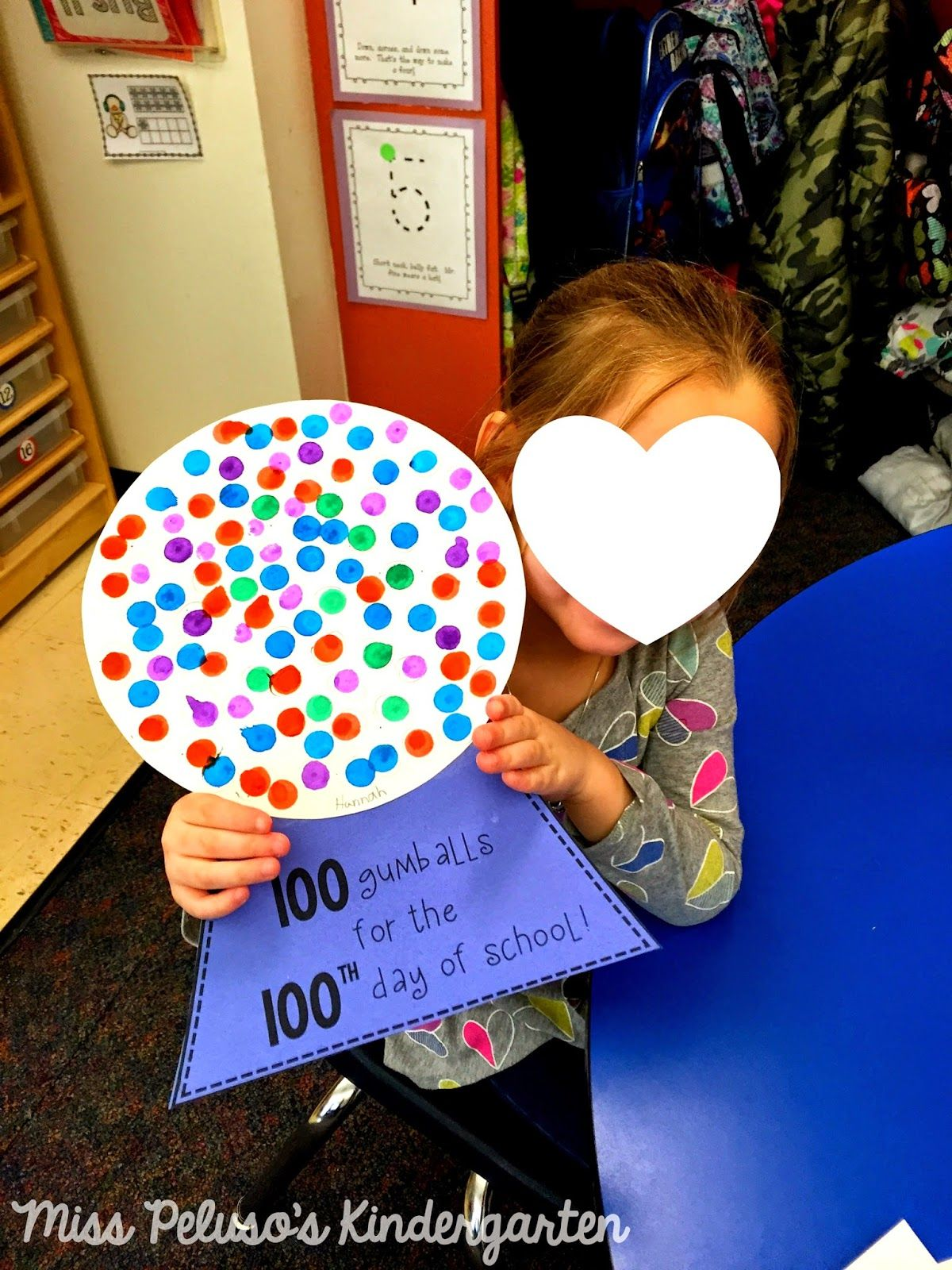 100th Day Of School 100 Gumballs In A Gumball Machine
