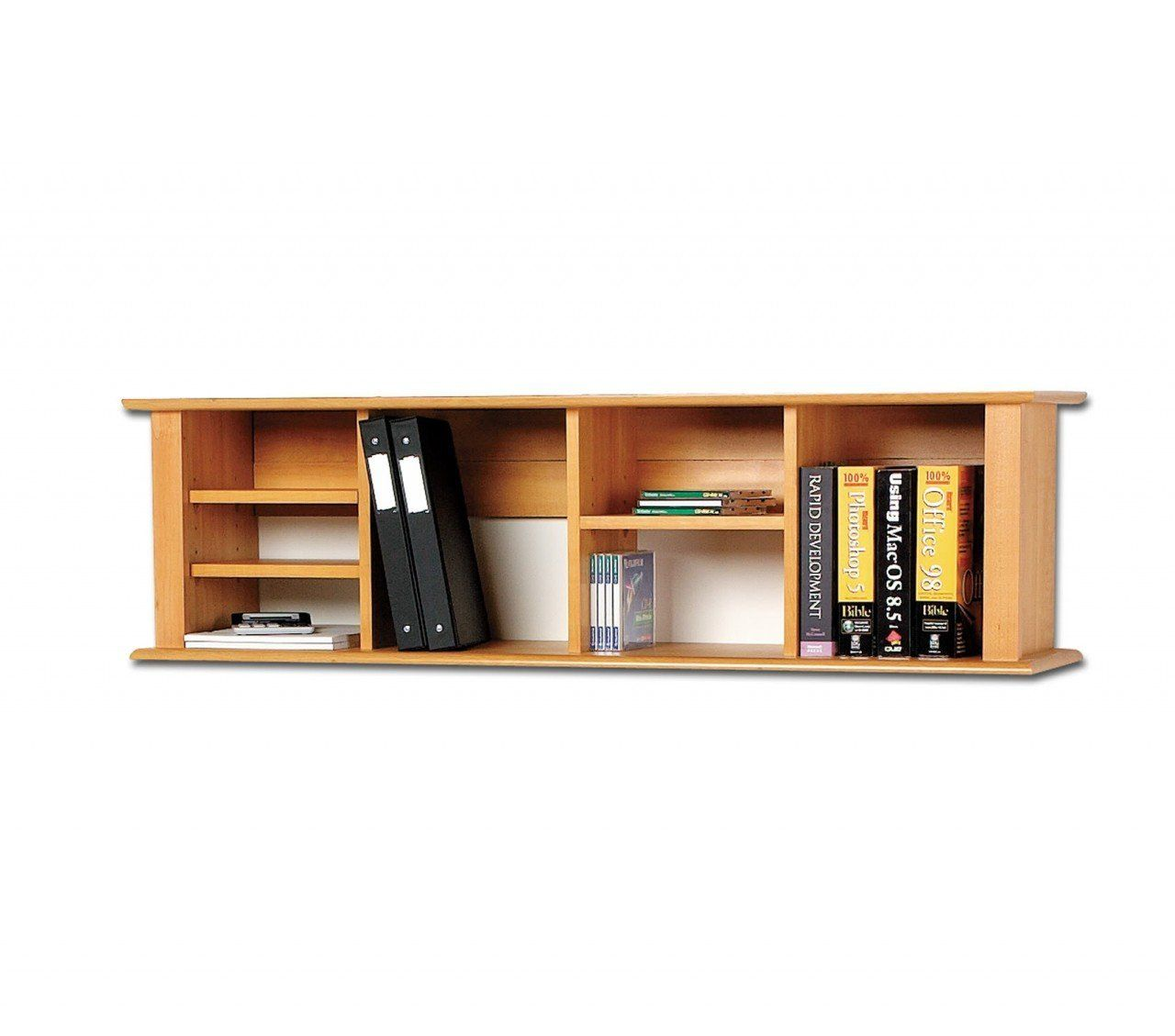 Wall mounted wood shelves1 wooden shelves pinterest Wall mounted bookcase shelves