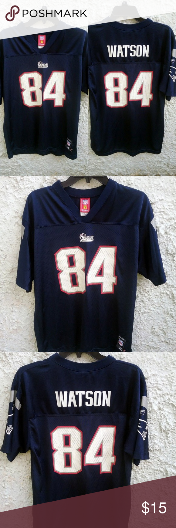 buy online 6d669 a0731 New England Patriots Watson Jersey Youth XL 18-20 New ...